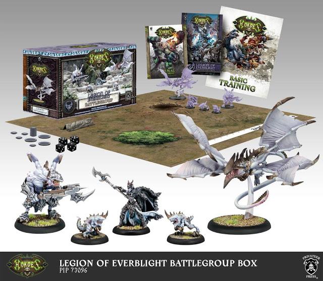 Hordes mk3 Everblight battlegroup