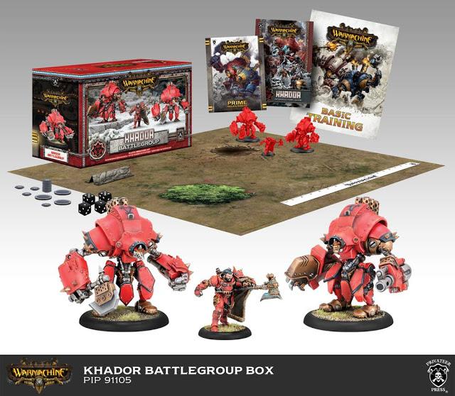 Warmachine mk3 Khador Battlegroup Box